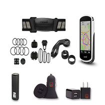 Garmin Edge 1030 Cycling Computer Bundle With PowerBank, USB Car Charger, USB Wall Charger, EZEE Bundle