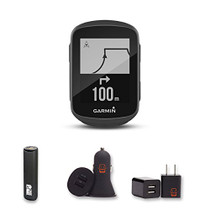 Garmin Edge 130 - Compact, Easy-to-use GPS Bike Computer, Unit Only, With PowerBank, USB Car Charger, USB Wall Charger, EZEE Bundle