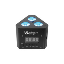 CHAUVET DJ Wedge Tri LED Wash Light w/Infared and Remote Control