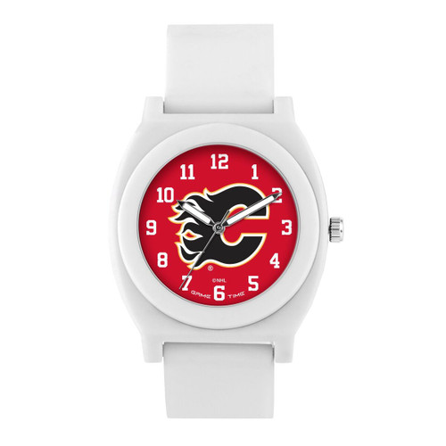 FAN WHITE SERIES CALGARY FLAMES