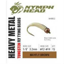 Nymph Head Heavy Metal Tungsten Beads