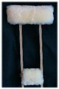 Medical Sheepskin Crutches Covers: