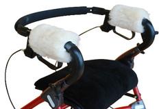 M119: Washable Medical Sheepskin Walker Seat Cover