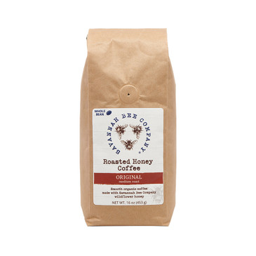 Savannah Bee Company honey is added to organic Arabica beans, imparting a subtle sweetness to your morning brew.