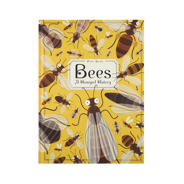 """""""Bees: A Honeyed History"""" children's book by Piotr Socha, hardcover, 80 pages."""