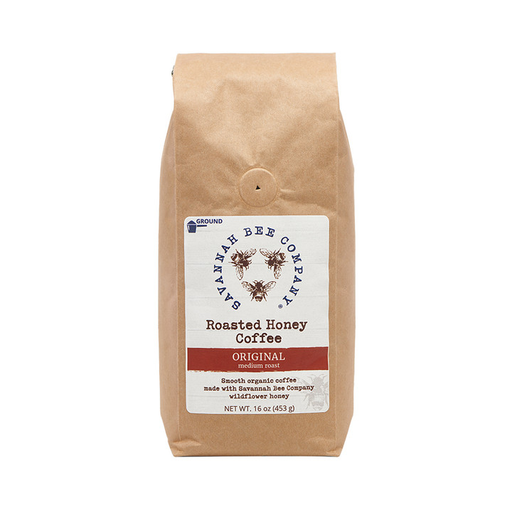 Savannah Bee Company honey meets organic Arabica beans for a flavor duo you will wake up for even on the weekend!