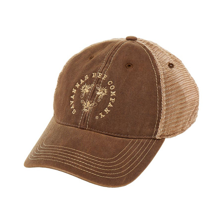 Savannah Bee Logo Trucker Cap