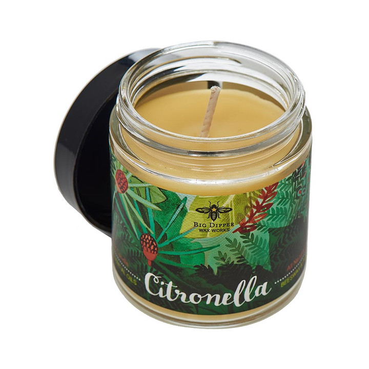 Beeswax Citronella Candle Apothecary
