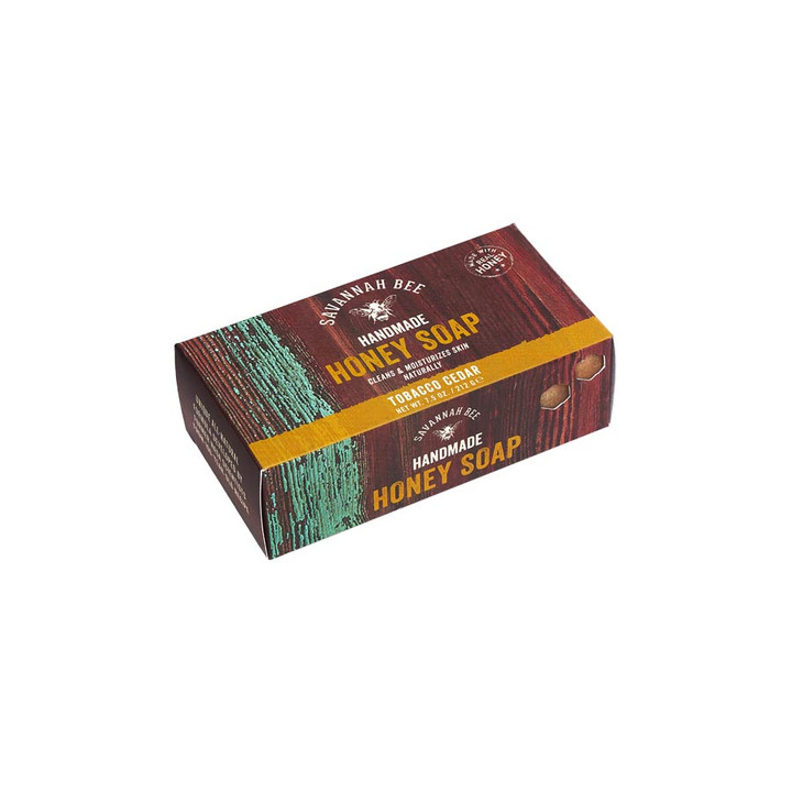 Tobacco Cedar Honey Bar Soap