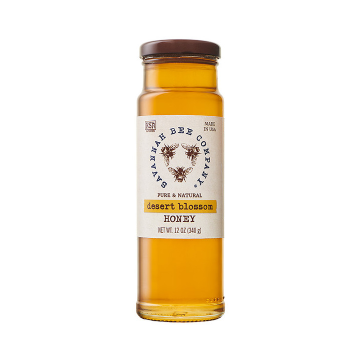 Desert Blossom Honey is made made from the huajilla shrub on isolated, unpopulated large-area ranches in Uvalde County, Texas.