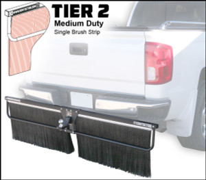 Tier 2 (Medium Duty Single Brush Strip)
