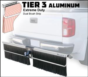 Tier 3 Aluminum (Extreme Duty Dual Brush Strip)
