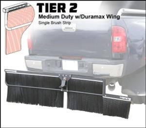 Tier 2 (Medium Duty Single Brush Strip With Duramax Wing)