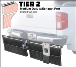 Tier 2 (Medium Duty Single Brush Strip With Single Exhaust Port)