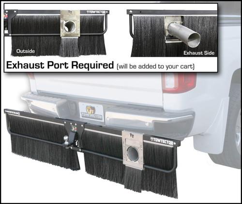 Heat Exhaust Port for Adjustable Towtector
