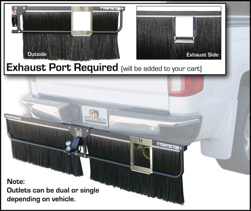 Exhaust Outlet, Single for Adjustable Towtector