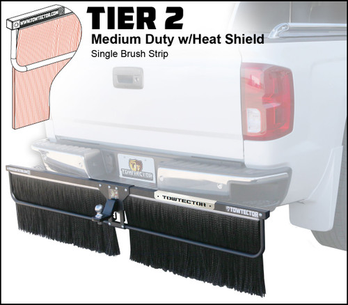 Tier 2 (Medium Duty Single Brush Strip With Heat Shield)