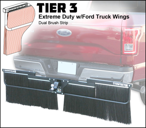 Tier 3 (Extreme Duty Dual Brush With Ford Truck Wings)