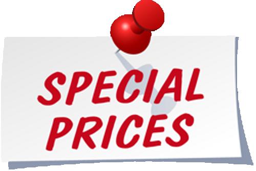 Clearance Items - Call 605-321-5382