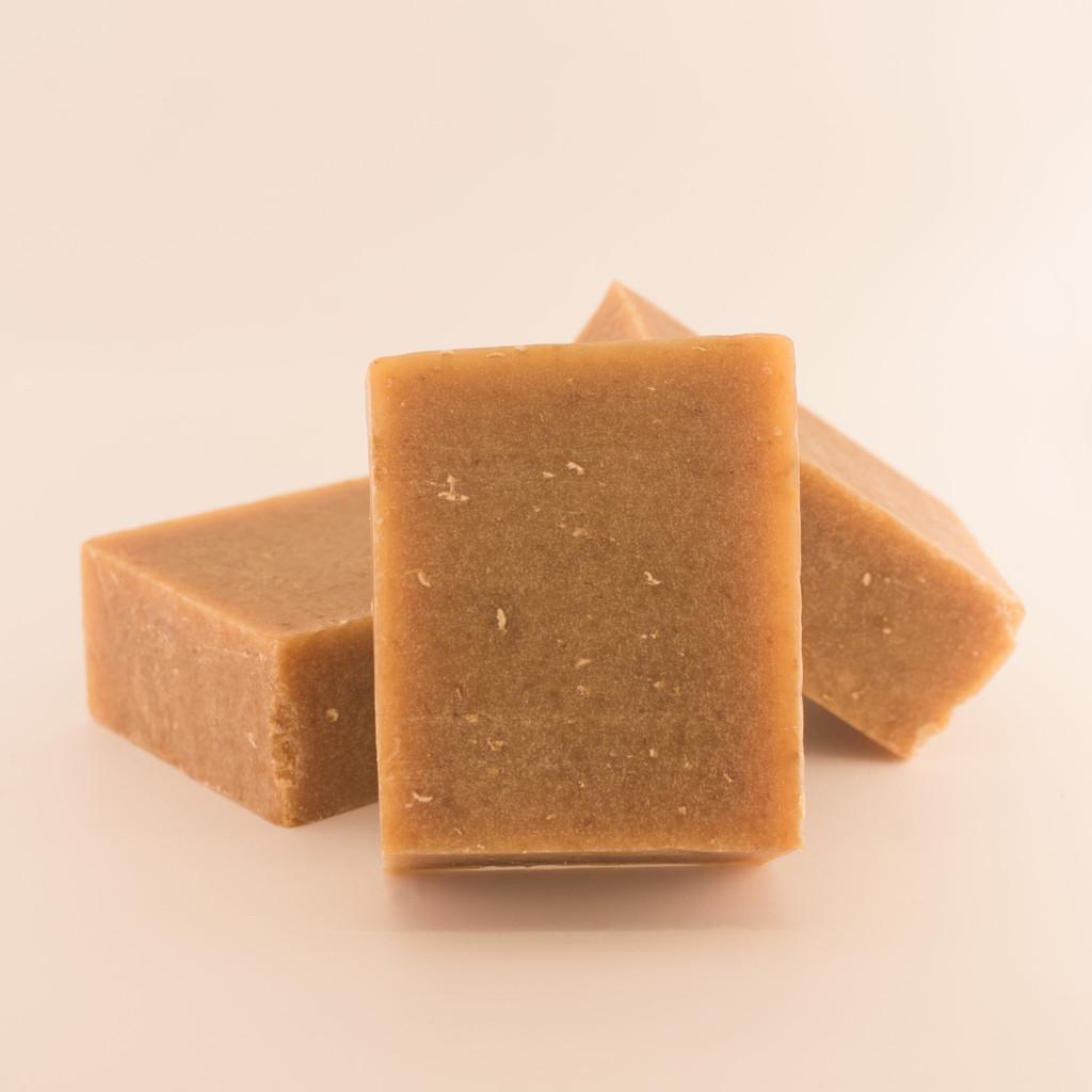 Discount Oatmeal 'n Honey Goat Milk Soap