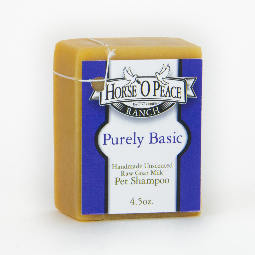 Healthy Pet - Purely Basic - Goat Milk Shampoo Soap