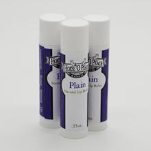 Handmade Plain Lip Balm (3 Pack)| Horse O Peace