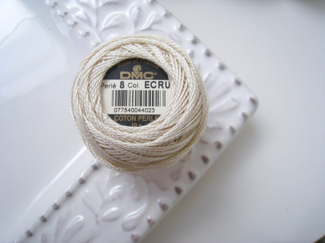 DMC Ecru - Perle Cotton Embroidery Thread Size 8