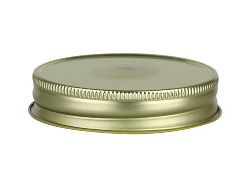 48/400 Gold/White Metal Cap