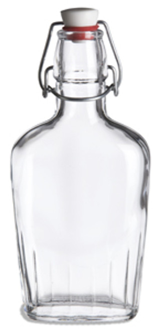 8.5 oz  Pocket Flask Bottle with Swing Top