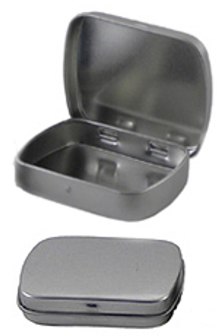 6 pcs Rectangular Hinged Tins