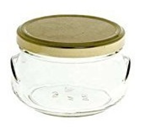 6.75 Glass Wedding Favor Jars