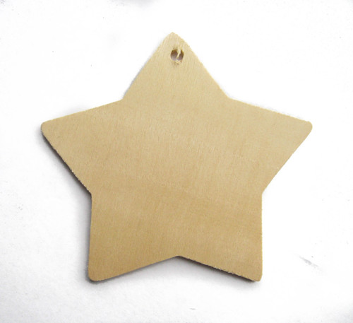 star gift tag, wood gift tag, natural, rustic, fairy, unfinished, tag, birthday, nakpunar, cutout, craftparts. woodworks