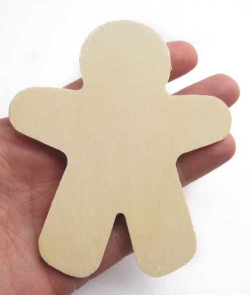 Ginger Bread Man Wooden Cutout