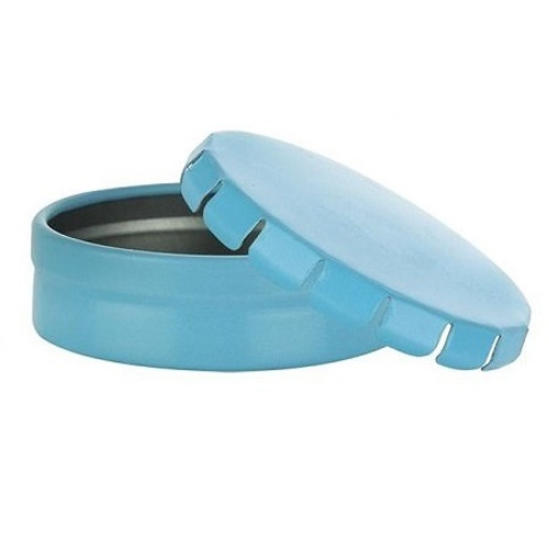 Blue Tin Container with Click Clack Closure - 20 ml