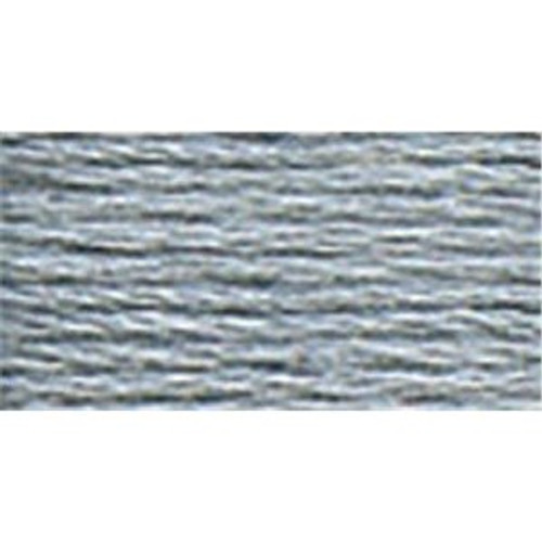 DMC #5 Perle Cotton Thread | 318 Light Steel Gray by Nakpunar.