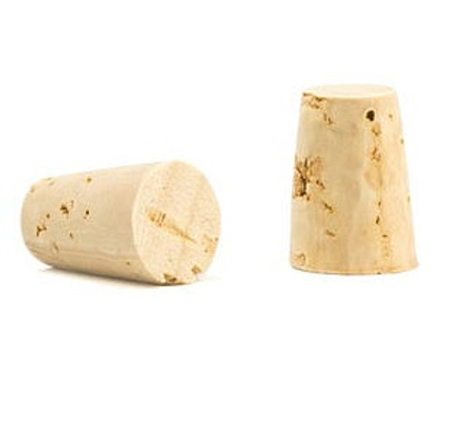Size #1 Natural Cork Stopper