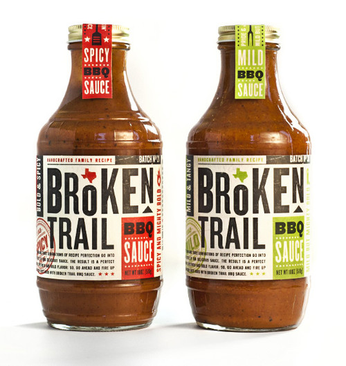 Broken Trail Sauce bottle