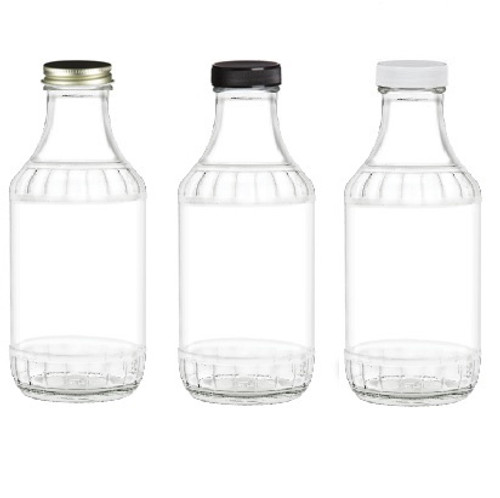 16 oz Decanter Glass Bottle with 38/400 Cap