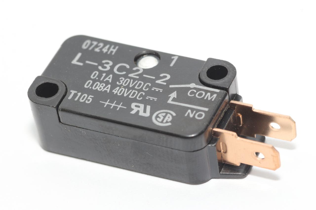 Panasonic Inverter Microwave Door Secondary Latch Switch