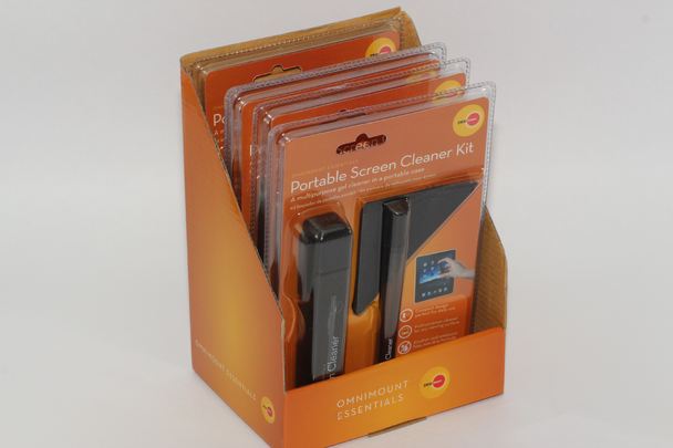 5 x OmniMount Portable Screen Cleaner Kit - iPad, Laptop, iPhone, DVD, Glasses