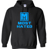 PULLOVER HOODIE BLK/NBL