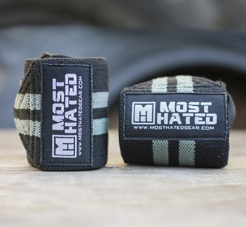 Rebel Wrist Wraps BKG
