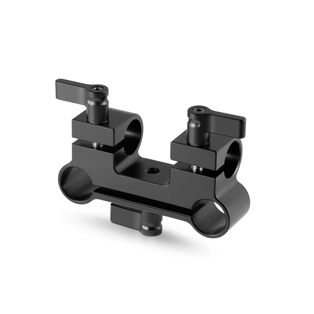 SmallRig Dual to Single 15mm Rod Clamp Adapter 922