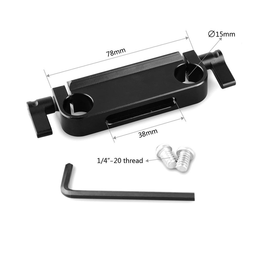 15mm Rod Clamp with top slide rail 1175