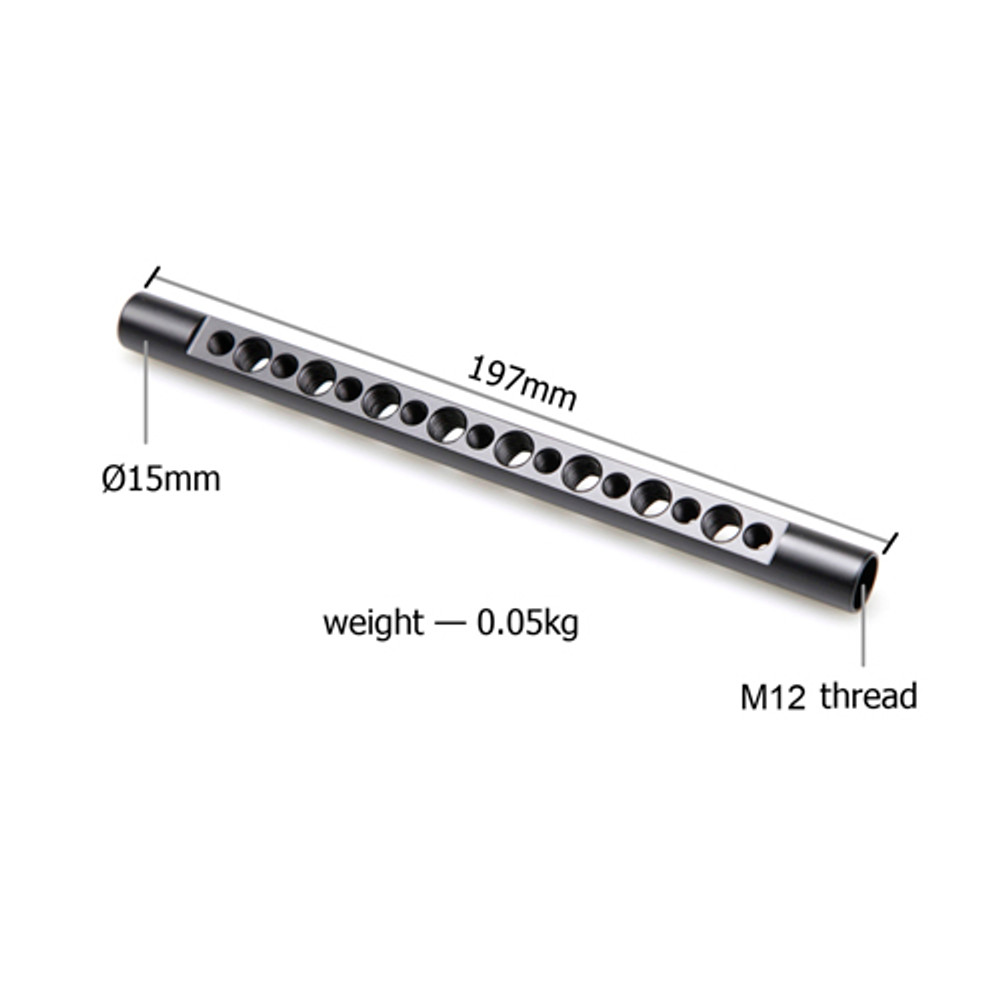 15mm Cheese Rod(M12-197mm) 1462
