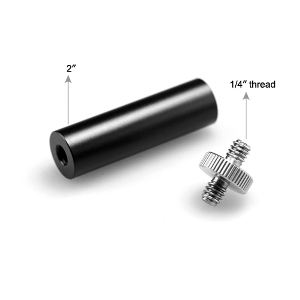 SMALLRIG 15mm 2inch Micro Rod(1/4''-20 thread) 1654
