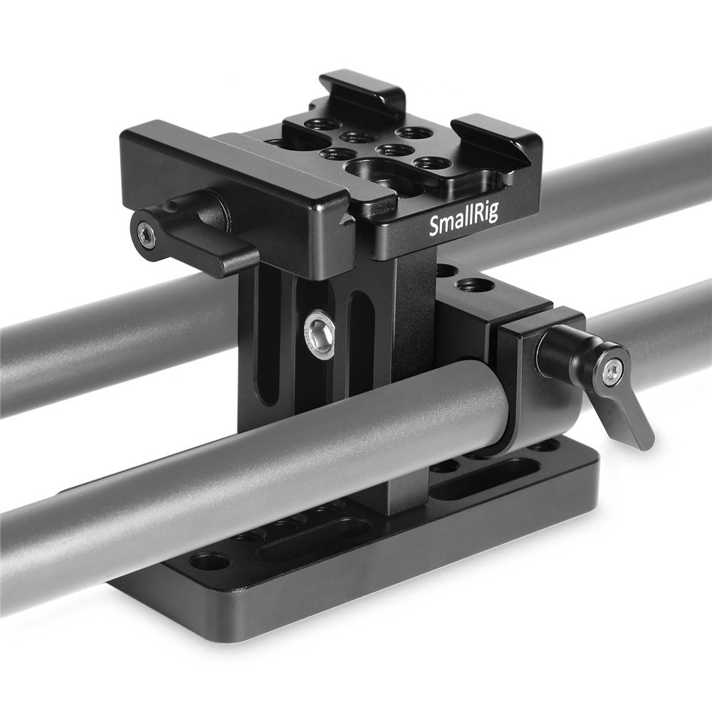 SmallRig 15mm Rail Support System Baseplate (Arca Swiss) 1687
