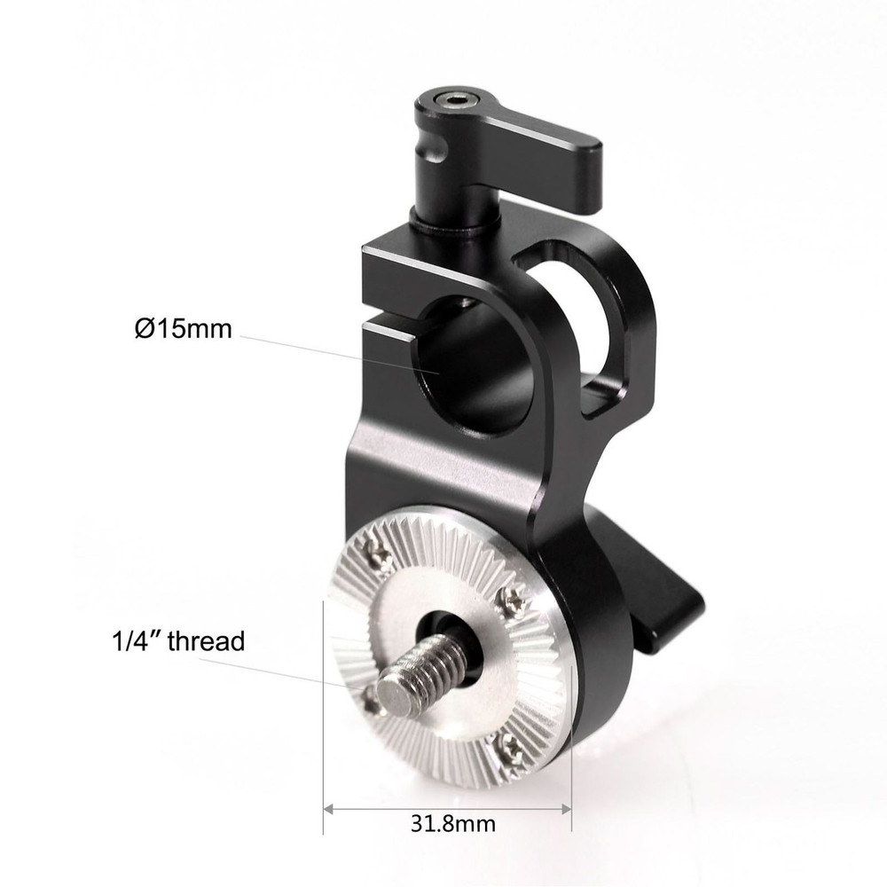 SmallRig 15mm Rod Clamp with Arri Rosette 1743