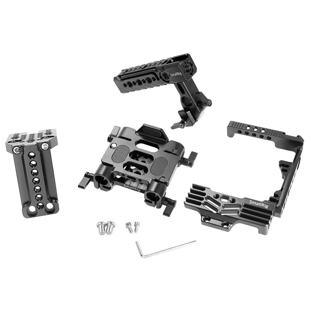 SmallRig Ultimate Half-cage Kit for Panasonic Lumix GH5 with Battery Grip 2067