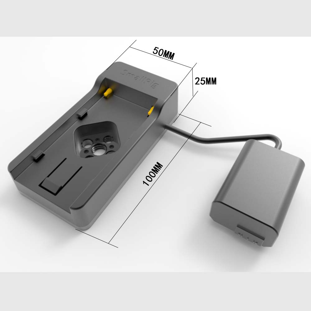 SmallRig Battery Adapter Plate for Sony 7.2V NP-F Series 2140